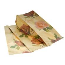 Paperipussi, ruskea, Ruusu, 2 kg, 500 kpl/ltk,14,7*32,5*4,5cm