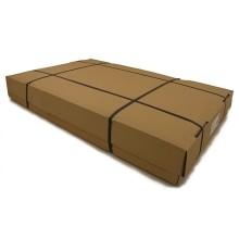 Brown cardboard box for silkpaper